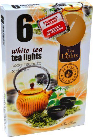 Čajová svíčka - bílý čaj