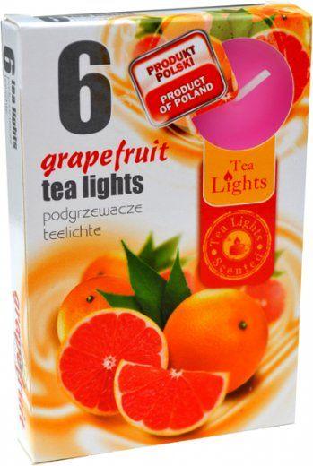 Čajová svíčka - grapefruit