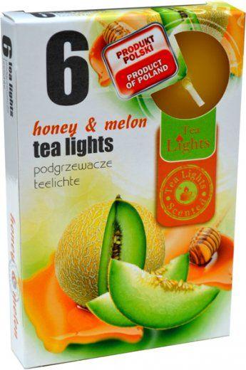 Čajová svíčka - med/meloun