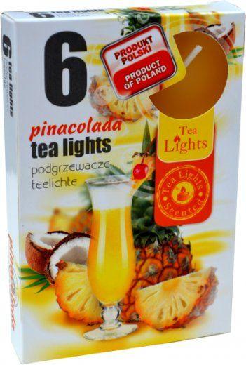 Čajová svíčka - piňakoláda