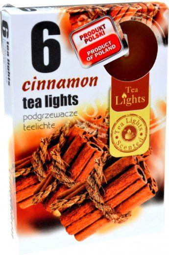 Čajová svíčka - skořice