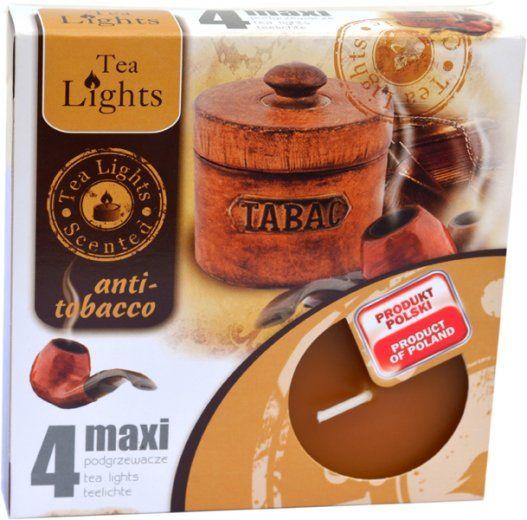 Maxi čajová svíčka - antitabak