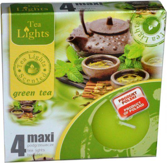 Maxi čajová svíčka - zelený čaj