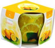 Svíčka ve skle - citron