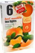 Čajová svíčka - Basil Mandarin