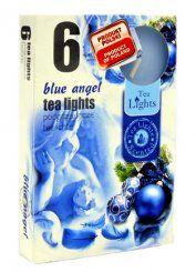 Čajová svíčka - modrý anděl
