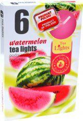 Čajová svíčka - vodní meloun