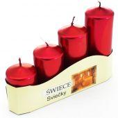 Ad. svíčky II - bordó