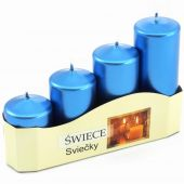 Ad. svíčky II - modrá