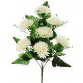 Chryzantéma x7 - bílá