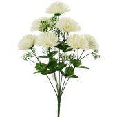 Chryzantéma x9 - bílá