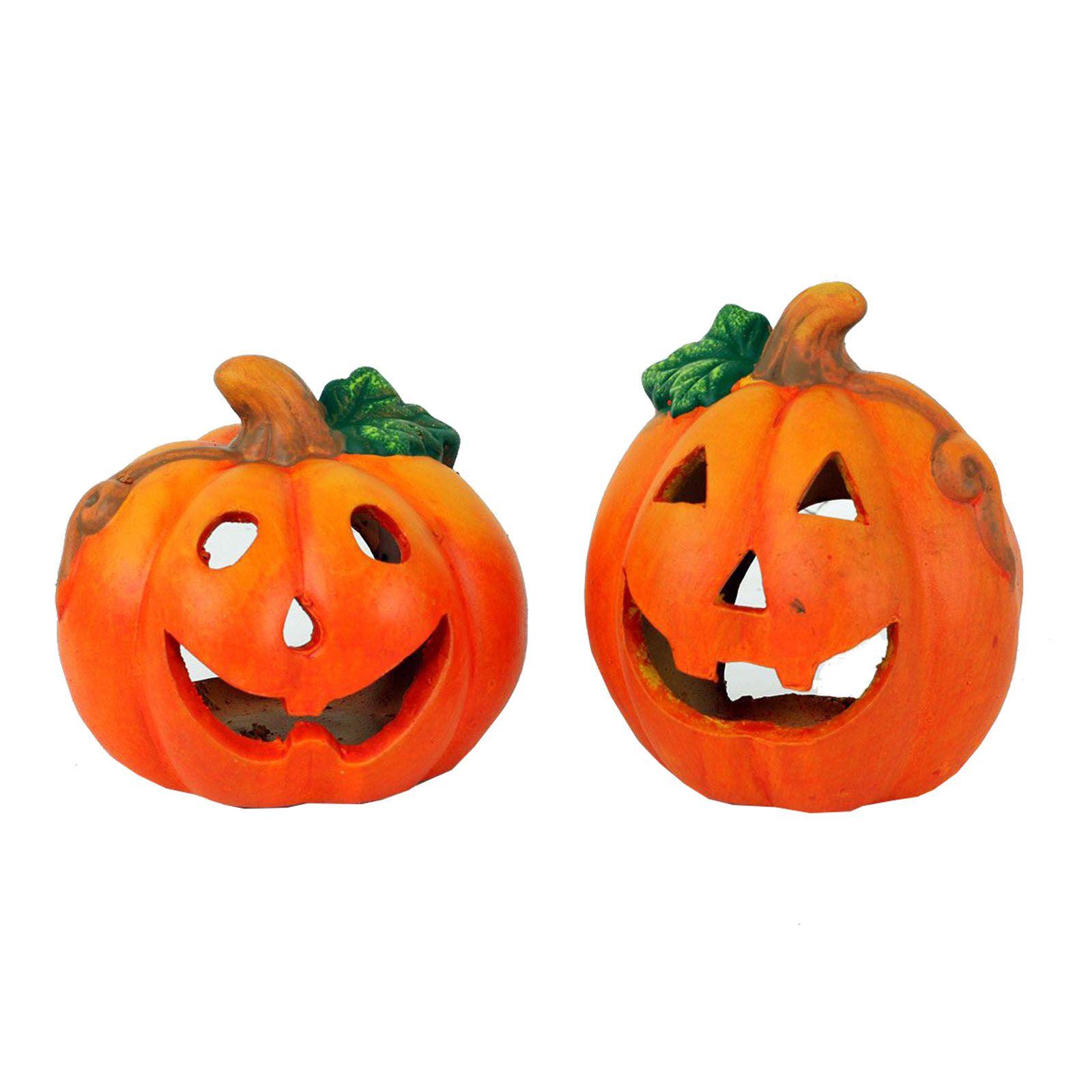 Keramická dýně - halloween