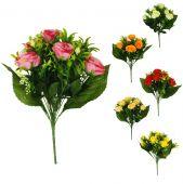 Růže x9 - MIX
