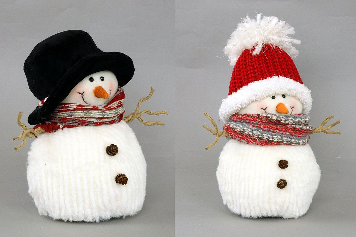 Sněhulák - vánoční dekorace
