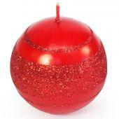 Koule 60 metal - červená