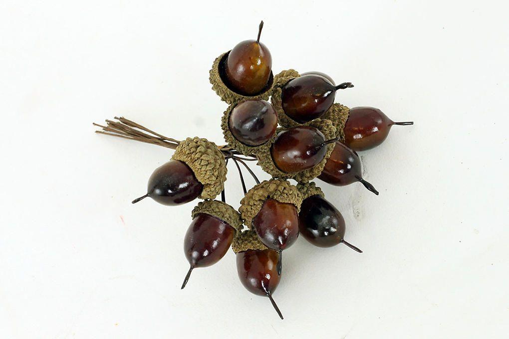 Žaludy - podzimní dekorace