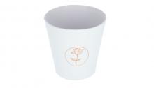 Flower box, obal - bílá