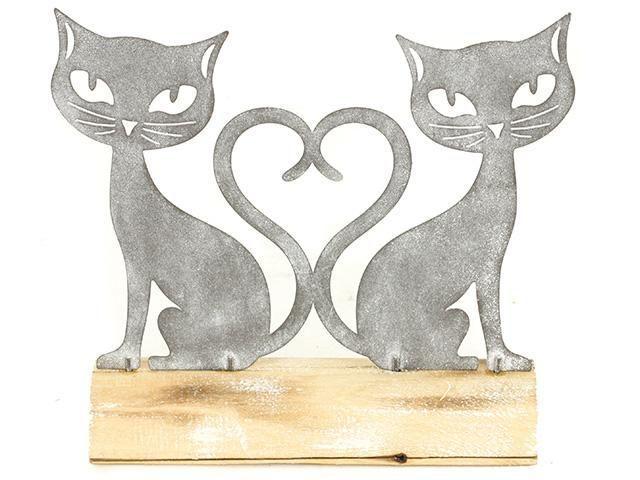 Kočky kovové