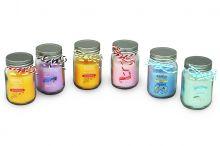 Svíčka vonná ve skle - MIX