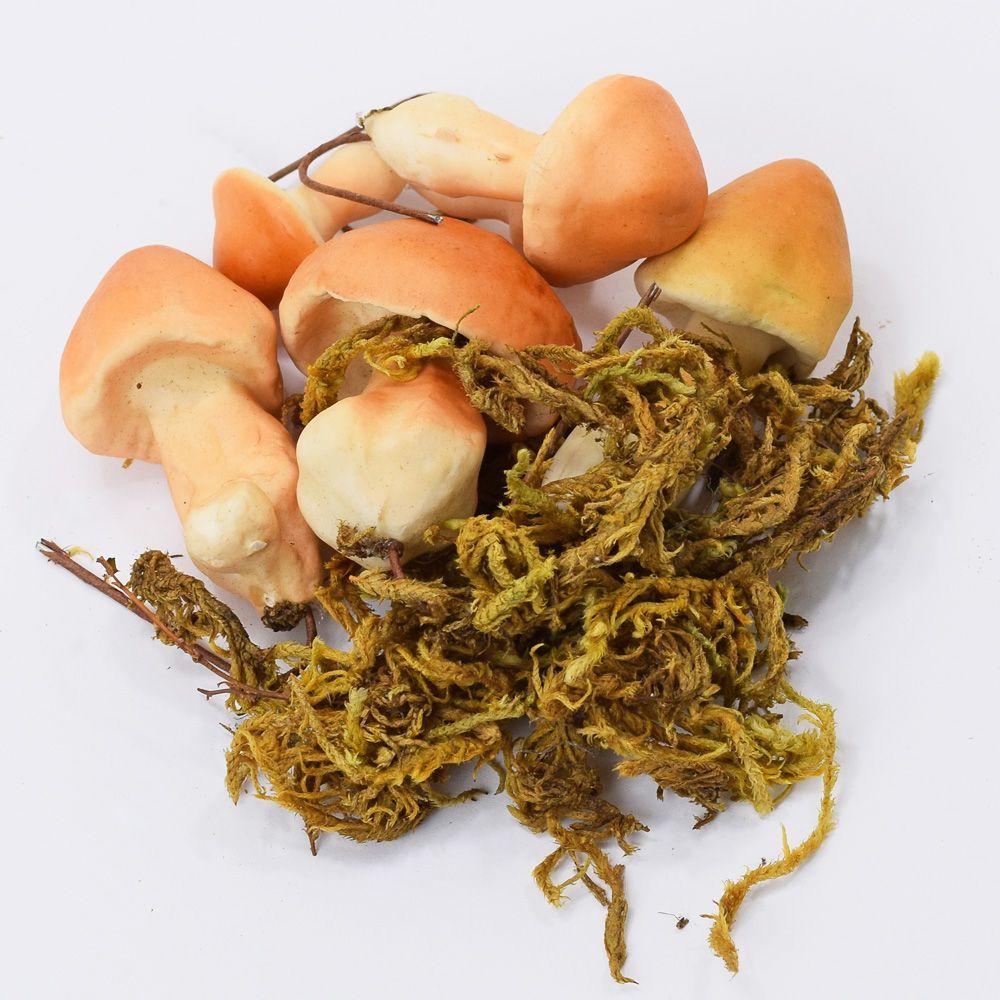 Hříbky - podzimní dekorace