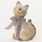 Kočka keramická