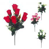 Růže poupě x9 - MIX