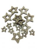 Hvězda S/16 - zlatá