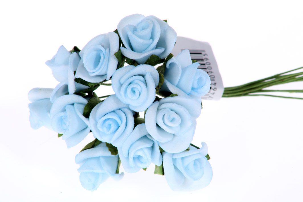 Růžičky pěnové - umělá květina