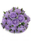 Růže pěnová x24 - fialová