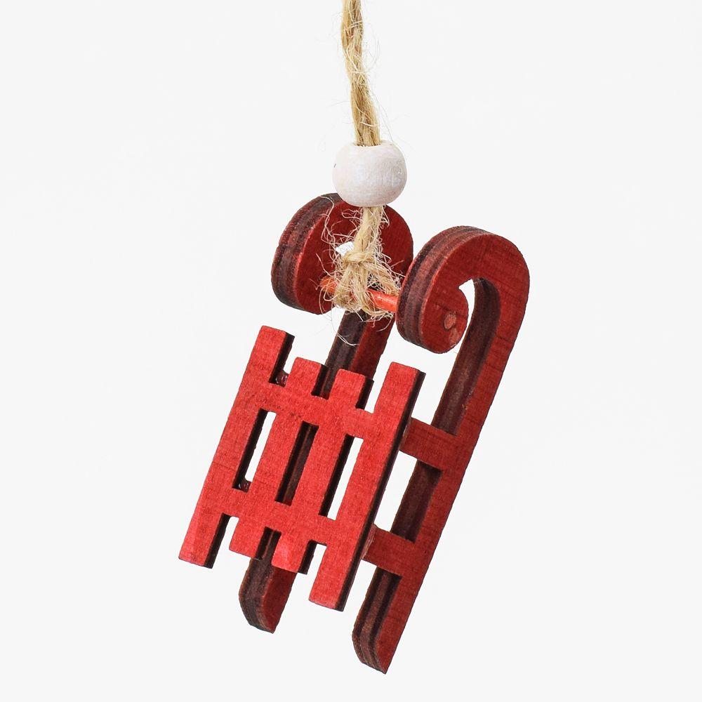 Sáňky - vánoční dekorace