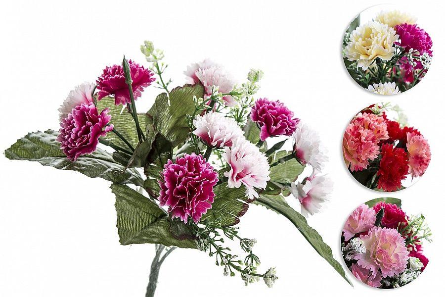 Karafiát - umělá květina.