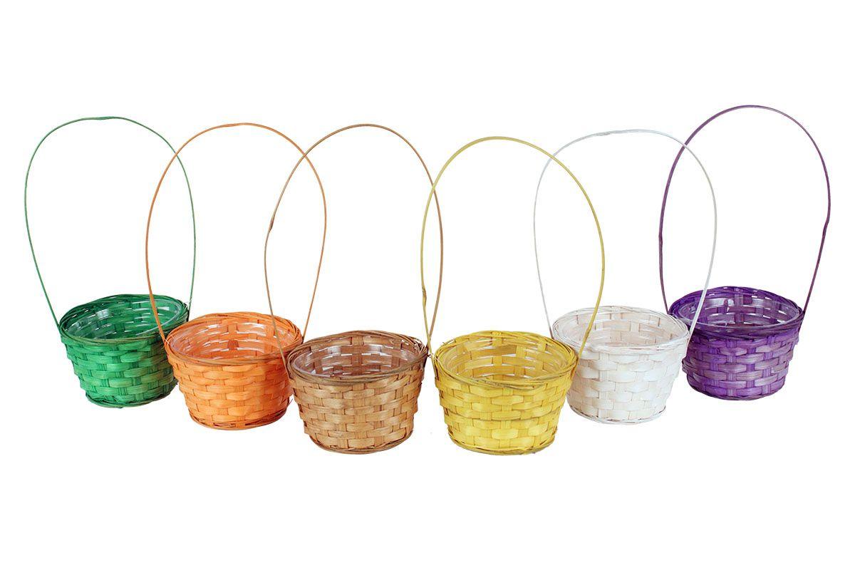 Košík - proutěná dekorace