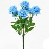 Růže x7 - sv. modrá