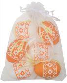 Vajíčko S/6 - oranžová