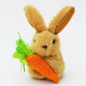 Zajíček plyš s mrkví