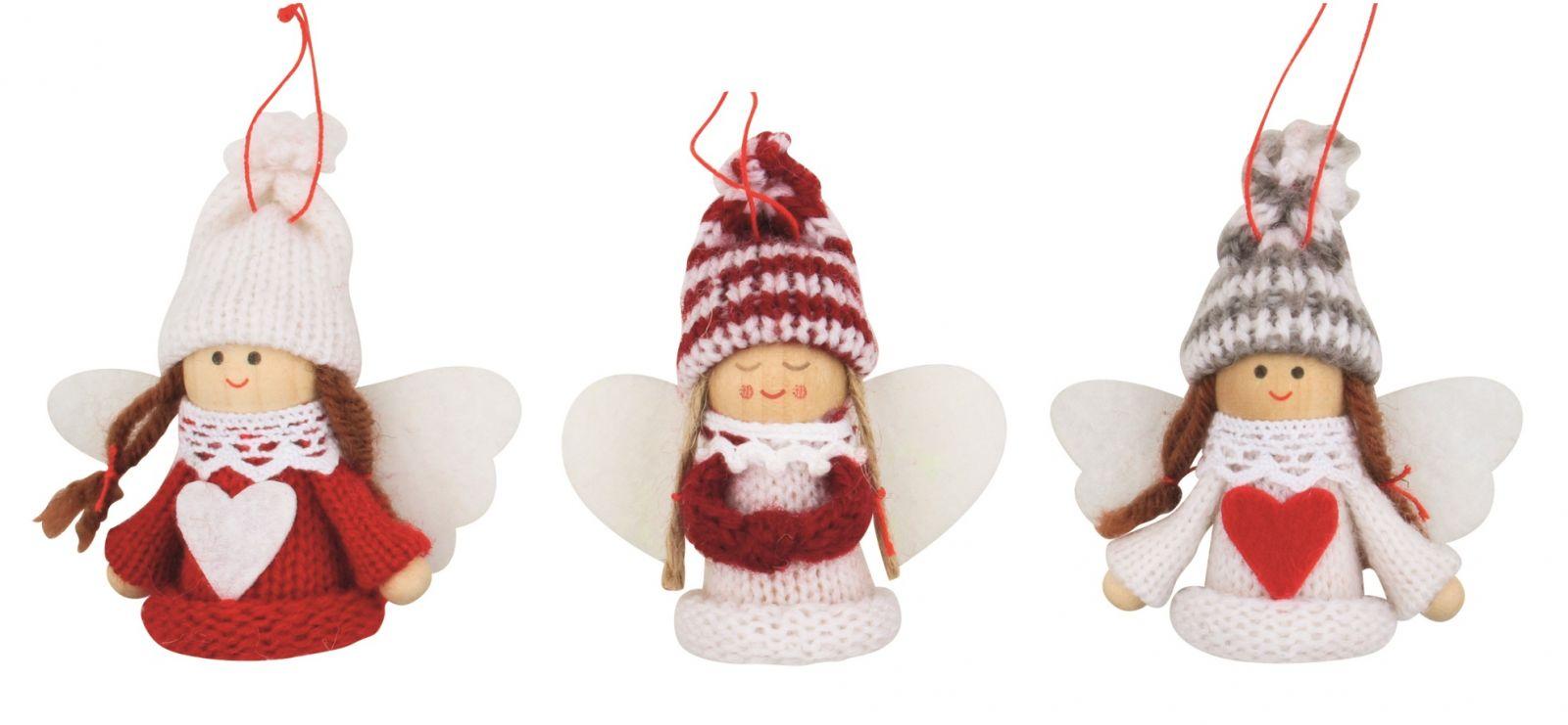 Andílek - vánoční dekorace