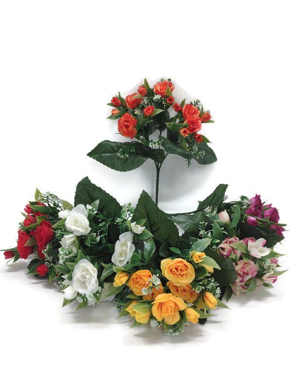 Růže - umělá kytice
