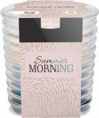 Svíčka ve skle - letní ráno