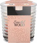 Svíčka ve skle - santalové dřevo