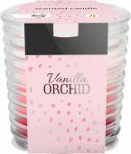 Svíčka ve skle - vanilka orchidej