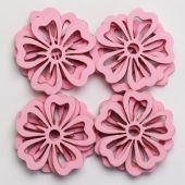 Květina pěnová S/12 - růžová