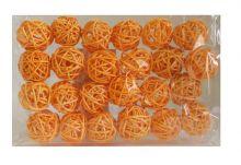 Kuličky 3cm - oranžová
