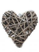 Srdce proutí - šedá