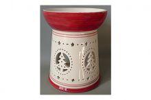 Vánoční aromalampa - keramická dekorace