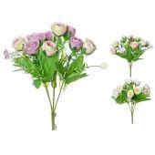 Růže x5 - kytice MIX