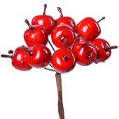 Jablíčka na drátku - podzimní dekorace