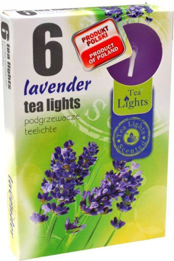 Čajová svíčka - levandule