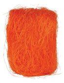 Sisal - oranžová tm.
