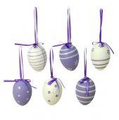 Vajíčka S/6 - fialová
