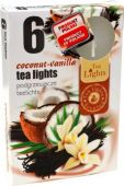 Čajová svíčka - kokos/vanilka